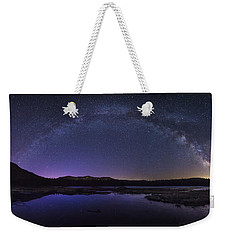 Milky Way Over Lonesome Lake Weekender Tote Bag
