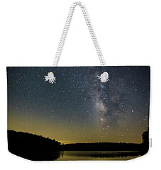 Milky Way Over Price Lake Weekender Tote Bag