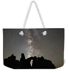 Milky Way Over Turret Arch Weekender Tote Bag