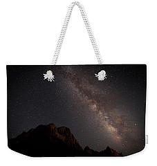 Milky Way Over Zion Weekender Tote Bag