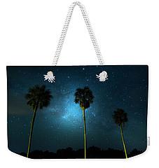 Milky Way Planet Weekender Tote Bag by Mark Andrew Thomas