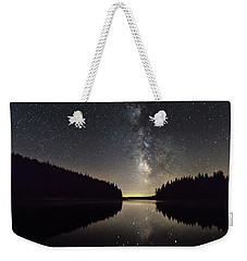 Milky Way Reflections In A Lake Weekender Tote Bag