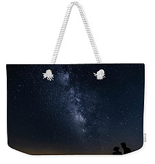 Milky Way Viewed From Rough Ridge Weekender Tote Bag