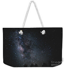 Milkyway Over Great Smoky Mountains Weekender Tote Bag