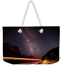 Milkyway Over The Higway Weekender Tote Bag