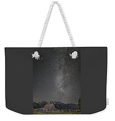 Milkyway Over The John Moulton Barn Weekender Tote Bag