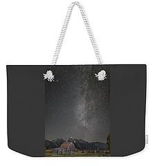 Milkyway Over The John Moulton Barn Weekender Tote Bag