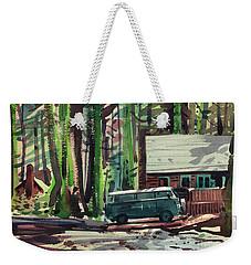 Mill Creek Camp Weekender Tote Bag