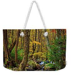 Mill Creek In Fall #1 Weekender Tote Bag