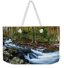 Mill Creek In Fall #2 Weekender Tote Bag
