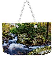 Mill Creek In Fall #4 Weekender Tote Bag