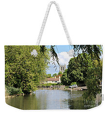 Mill Dam,tickhill Weekender Tote Bag