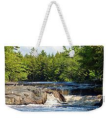 Mill Falls, Kejimkujik National Park, Nova Scotia Weekender Tote Bag