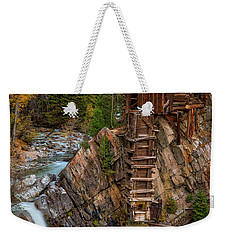 Mill In The Mountains Weekender Tote Bag