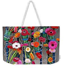 Millefiori Weekender Tote Bag by AmaS Art