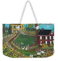 Millefiori Weekender Tote Bag by Virginia Coyle