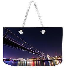 Millennium Bridge London  Weekender Tote Bag