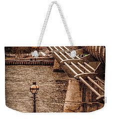 London, England - Millennium Bridge Weekender Tote Bag