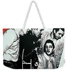 Million Dollar Quartet Weekender Tote Bag