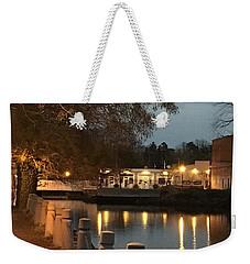 Milton By Night Weekender Tote Bag