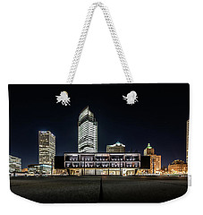 Weekender Tote Bag featuring the photograph Milwaukee County War Memorial Center by Randy Scherkenbach