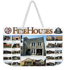 Milwaukee Fire Houses Weekender Tote Bag