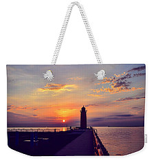 Milwaukee Lighthouse Weekender Tote Bag