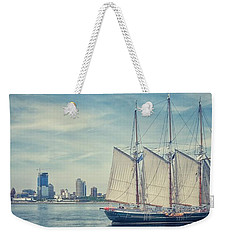 Milwaukee Schooner Weekender Tote Bag