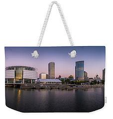 Milwaukee Sky Weekender Tote Bag