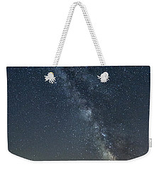 Milky Way From A Pontoon Boat Weekender Tote Bag by Patrick Fennell