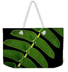 Weekender Tote Bag featuring the photograph Mimosa by Jay Stockhaus