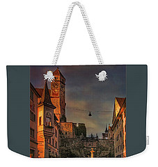 Weekender Tote Bag featuring the photograph Main Square by Hanny Heim
