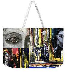 Mind Chatter Weekender Tote Bag