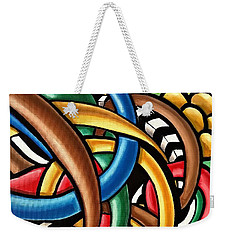 Mind Games - Abstract Energy Painting Weekender Tote Bag