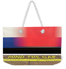Mind The Gap Weekender Tote Bag