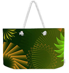Mind Trips - Green As Canopy Weekender Tote Bag