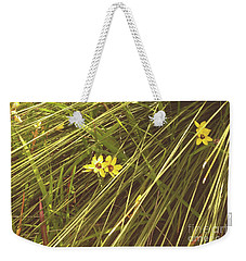 Weekender Tote Bag featuring the photograph Mindarie And Flowers by Cassandra Buckley