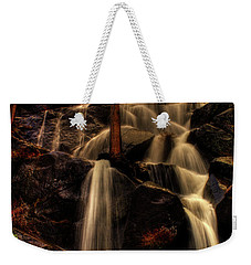 Quaking Aspen Falls Along Tioga Pass  Weekender Tote Bag