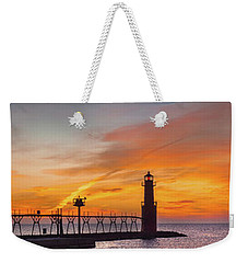 Weekender Tote Bag featuring the photograph Mine Eyes Have Seen The Glory by Bill Pevlor