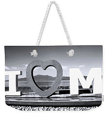 Mine Is Mona Weekender Tote Bag