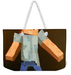 Minecraft Steve Weekender Tote Bag