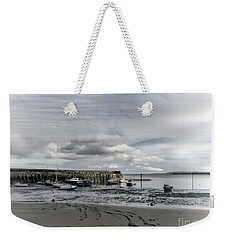 Minehead Harbour Somerset England Weekender Tote Bag by Lynn Bolt