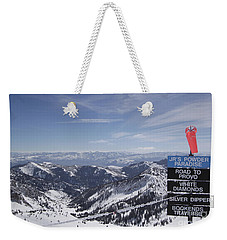 Mineral Basin Weekender Tote Bag by Adam Jewell