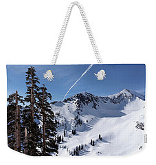Weekender Tote Bag featuring the photograph Mineral Basin by Jim Hill