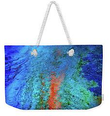 Mineral Stream Weekender Tote Bag