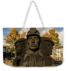 Miners In The Autumn Weekender Tote Bag
