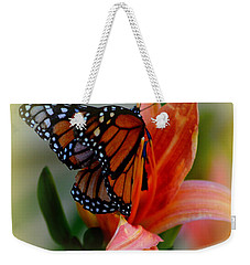 Mingle With A Monarch Weekender Tote Bag