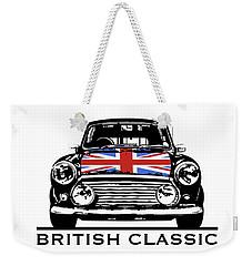 Mini British Classic Weekender Tote Bag