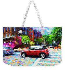 Mini Cooper Series 3 Weekender Tote Bag