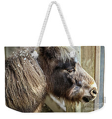 Miniature Horse Weekender Tote Bag by Suzanne Luft